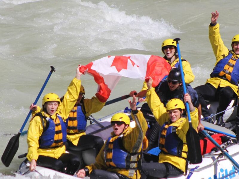Canada White Water Rafting Alberta Tradition 1500x750