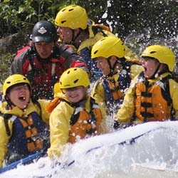 Family Rafting Trips in Banff, Banff Whitewater Rafting
