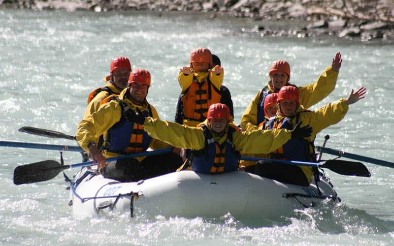 White Water Rafting Banff, Kicking Horse Rafting Trips