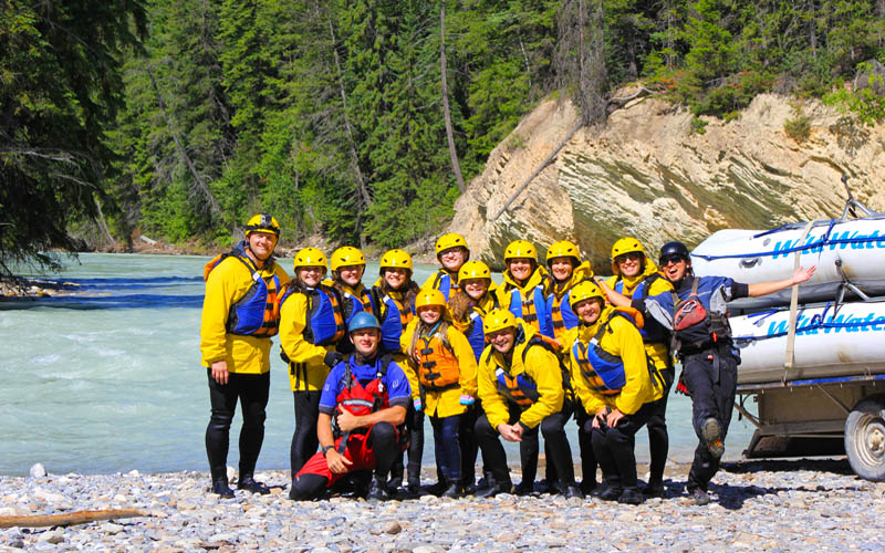 White Water Rafting Alberta, Kicking Horse Rafting