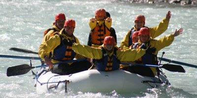 White Water Rafting Alberta, Kicking Horse River Rafting