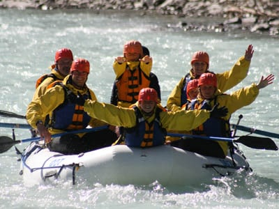 White water rafting Banff, Banff Rafting Day Trips